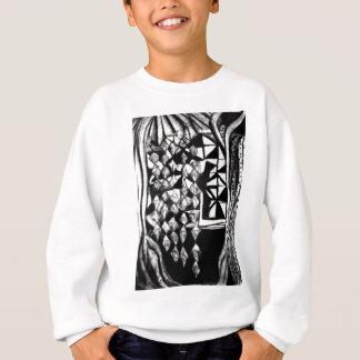 paper standing stylish sweatshirt