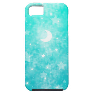 Paper Stars and Moon Fantasy Celestial Art iPhone 5 Case