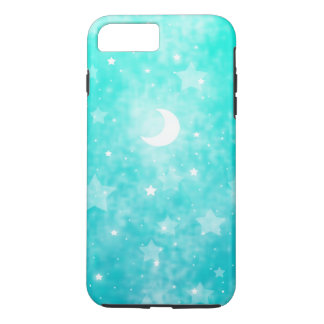 Paper Stars and Moon Fantasy Celestial Art iPhone 7 Plus Case