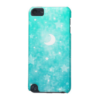 Paper Stars and Moon Fantasy Celestial Art iPod Touch 5G Cover