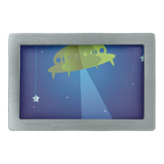 Paper theater - UFO Belt Buckle