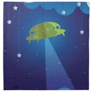 Paper theater - UFO Napkin