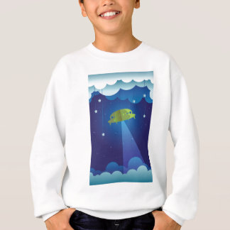 Paper theater - UFO Sweatshirt