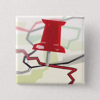 Paper Towns 15 Cm Square Badge