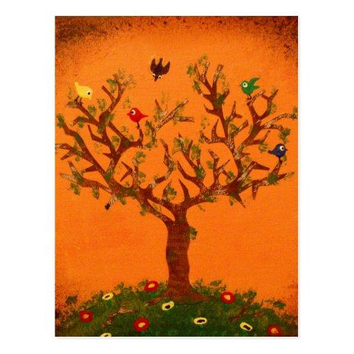 Paper Tree Postcard