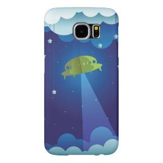 Paper UFO Samsung Galaxy S6 Cases