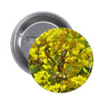 Paper Wasp on Goldenrod Items Buttons