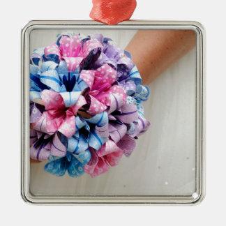 Paper Wedding Bouquet Christmas Ornament