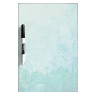 Paper With Blue, Green, And Black Paint Abstract Dry Erase White Board