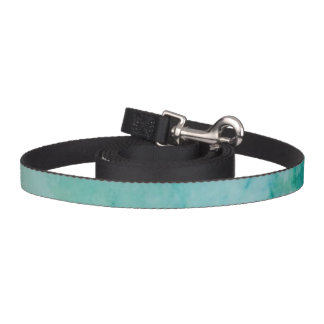 Paper With Blue, Green, And Black Paint Abstract Pet Lead