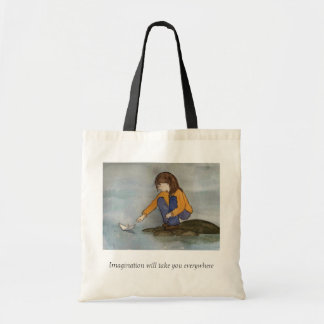 Paperboat Tote Bag