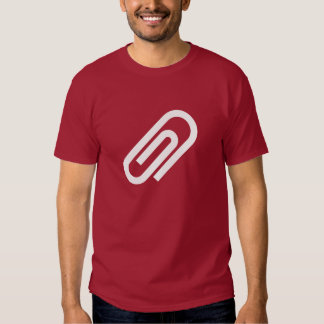 Paperclip Pictogram T-Shirt
