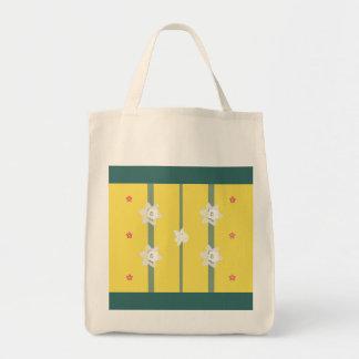 Papercut Daffodils Tote Bag
