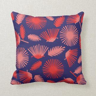 Papercut Daisies on Royal Blue Cushion