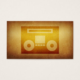 Papered Archive Deejay Tape Business Card