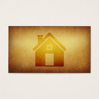 Papered Archive Real Estate Construction Business  Business Card