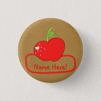 PaperFruit Apple Name Badge