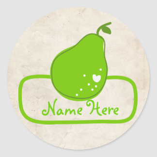 Paperfruit ownerShip Stickers Pear