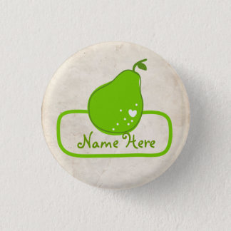 PaperFruit Pear Name Badge