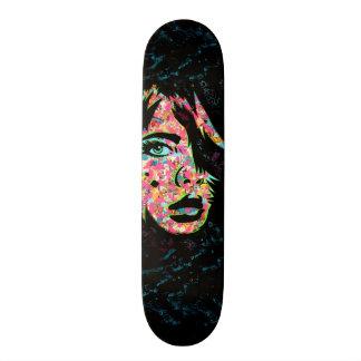 """PaperMonster """"He's Here"""" Deck Custom Skate Board"""
