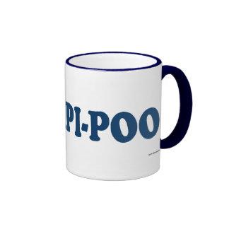Papi-Poo Blue Coffee Mugs