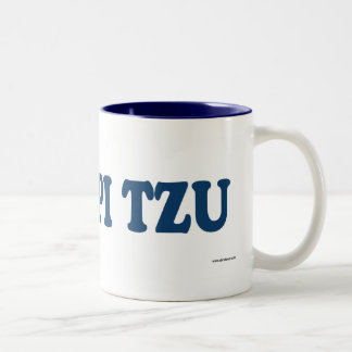 Papi Tzu Blue Coffee Mugs