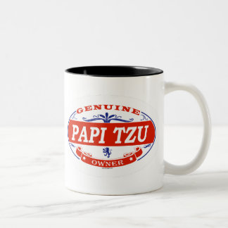 Papi Tzu  Coffee Mugs