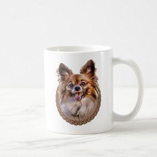 Papillon 001 coffee mug