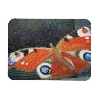 Papillon 2013 rectangular photo magnet