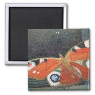 Papillon 2013 square magnet