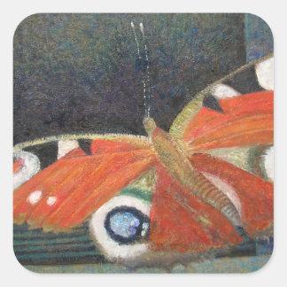 Papillon 2013 square sticker