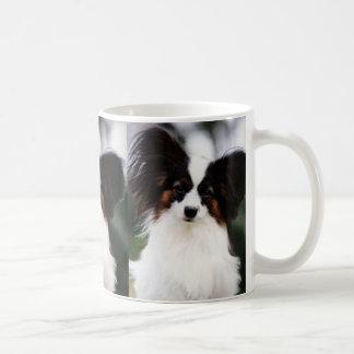 Papillon 2 coffee mug