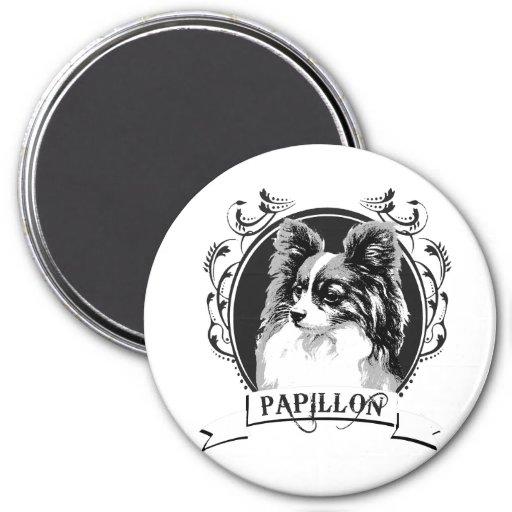 PAPILLON (2) REFRIGERATOR MAGNET