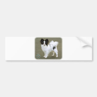 Papillon 8M062D-17 Bumper Sticker
