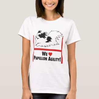 Papillon Agility Love T-Shirt