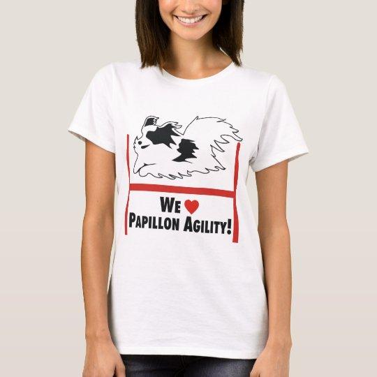 Papillon Agility Love T-Shirt