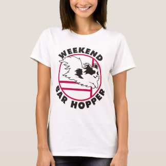 Papillon Agility Weekend Bar Hopper T-Shirt