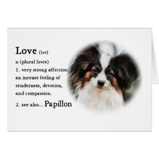 Papillon Art Gifts Card
