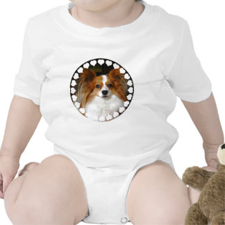 Papillon Baby T-Shirt
