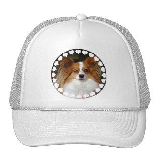 Papillon Baseball Cap Trucker Hat