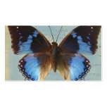 Papillon bleu Double-Sided standard business cards (Pack of 100)