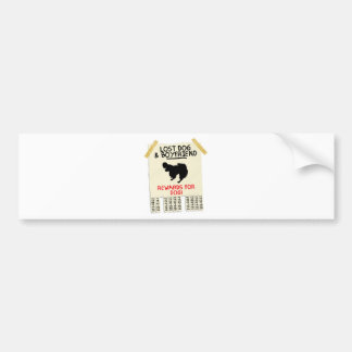 Papillon Bumper Sticker