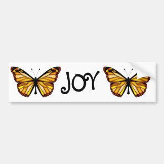 Papillon Car Bumper Sticker