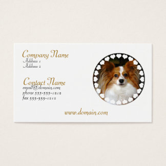 Papillon Business Card