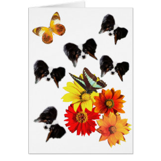Papillon Butterfly Gifts Card