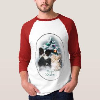 Papillon Christmas Gifts T-Shirt