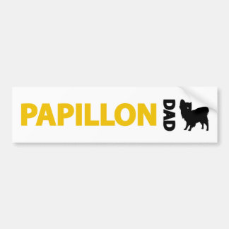 Papillon Dad Bumper Sticker
