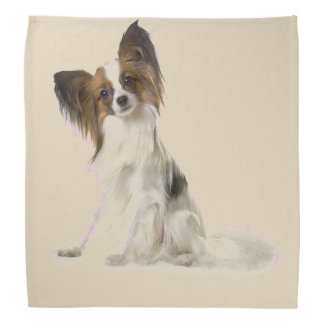 Papillon Dog Bandana