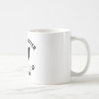 Papillon dog breed designs mug