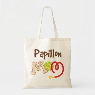 Papillon Dog Breed Mom Gift Budget Tote Bag